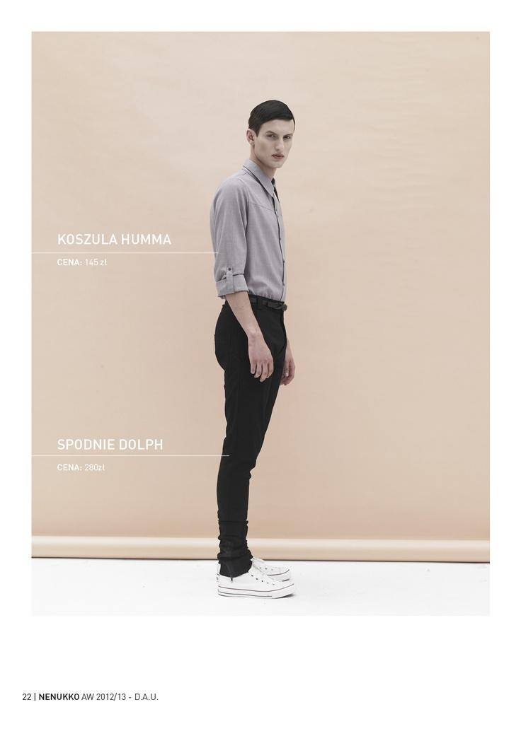 HUMMA shirt DOLPH trousers D.A.U. collection   http://nenukko.com/shop/