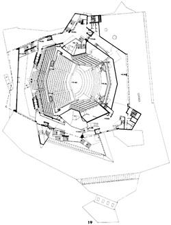 Hans Scharoun's Berliner Philharmonie.