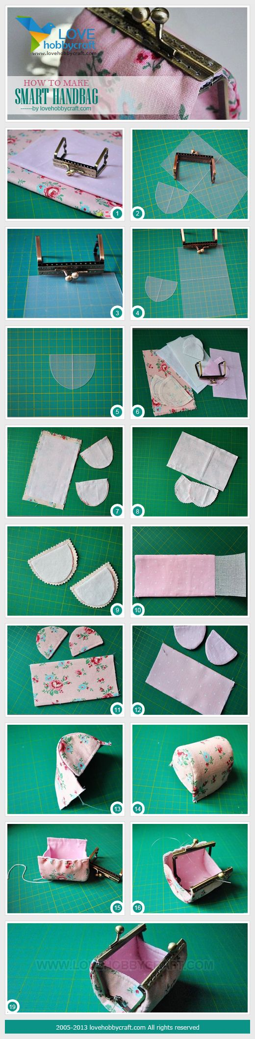 how to make smart handbag