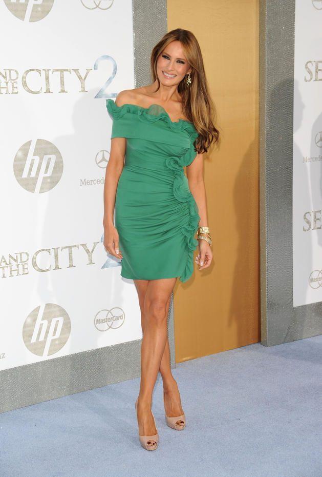 Melania Trump (Love this dress)