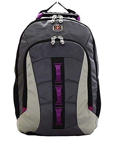 4a7d74598c New Swiss Gear SwissGear Skyscraper Backpack with Laptop Compartment  (Magenta) online.   43.99