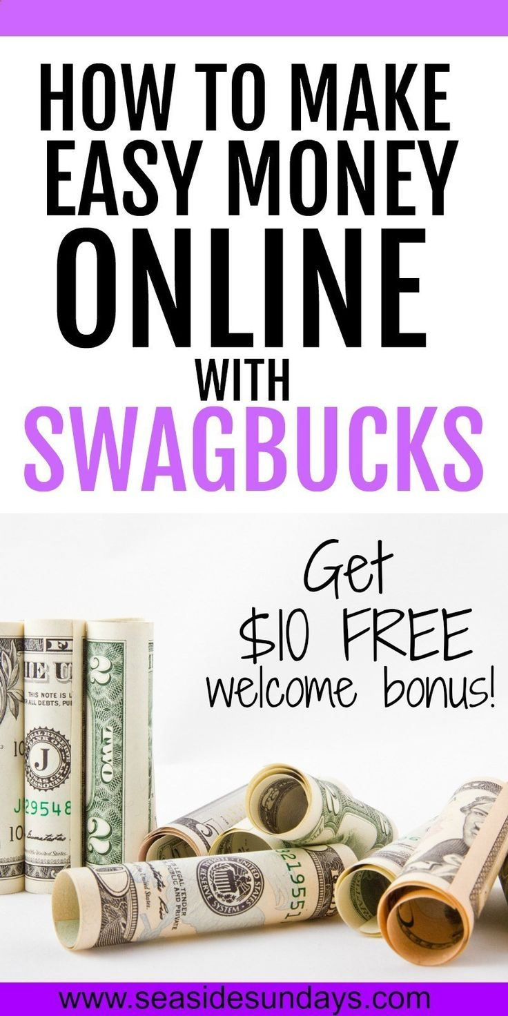Make money online easily. Complete online surveys for money or get paid to watch videos. These Swagbucks hacks will help you earn money and gift cards quickly. Swagbucks is the best reward site for making money online with surveys. Get $10 free just for s