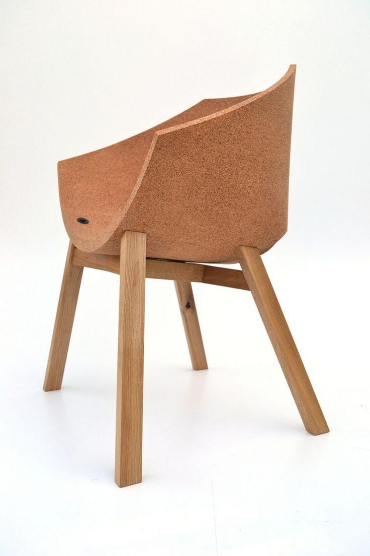 Cork chair CORKIGAMI by Carlos Ortega Design   #design Carlos Ortega #cork