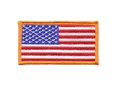 Nordstatsflagga tygmärke. Nordstatsflagga Patch  Tygmärke föreställande den amerikanska flaggan. Observera att tygmärket är v...