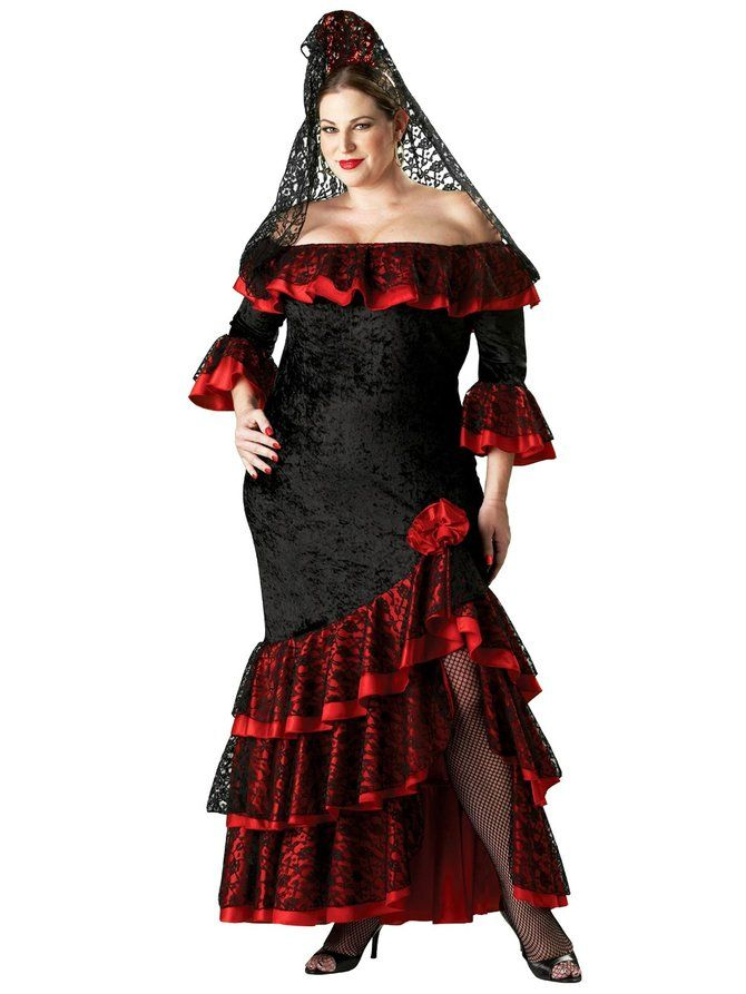 Buy the Plus Size Elite Senorita Costume at super low prices & same day shipping - buy your halloween costume now! 100% Safe shopping from Costume SuperCenter