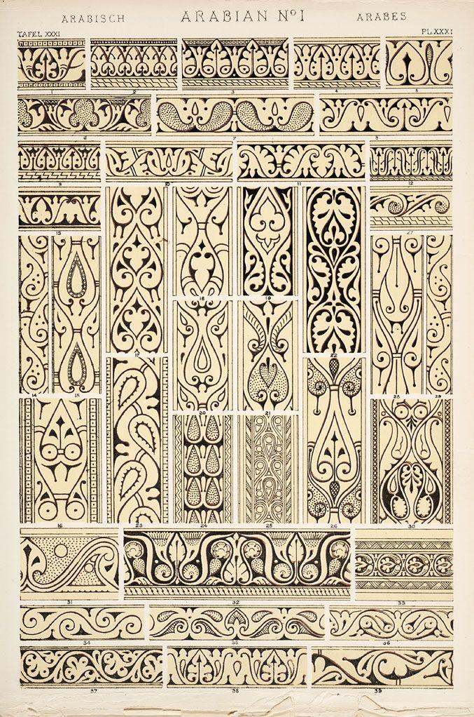 Jones, Owen, 1809-1874. / The grammar of ornament  (1910), p. PL. XXXI