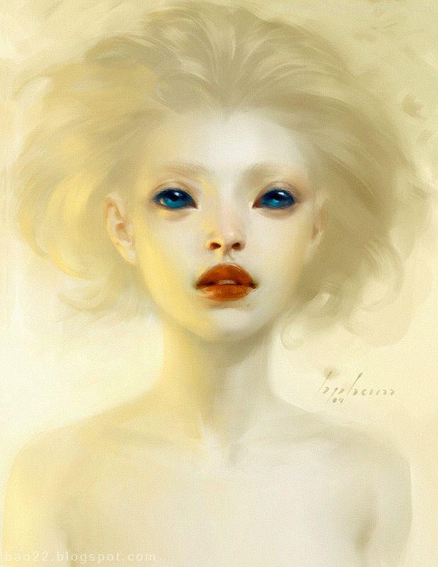 """Yellow"" sketch by artist Bao Pham"