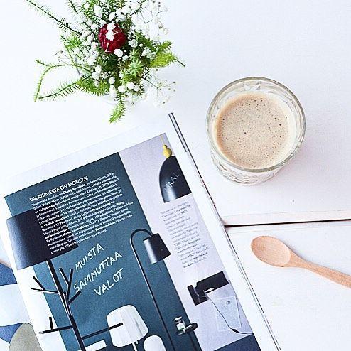 By Rydens Memo in the @kotijakeittio interior magazine.  #sessak #sessaklighting #byrydens #memo #interior #interiordesign #luminaire #lighting #scandinaviandesign #nordicdesign #interiormagazine #kotijakeittiö #interiorinspo #interiorinspiration #sisustus #sisustusinspiraatio #valaisin #sisustuslehti #coffeebreak #coffeetime #nordicinspiration