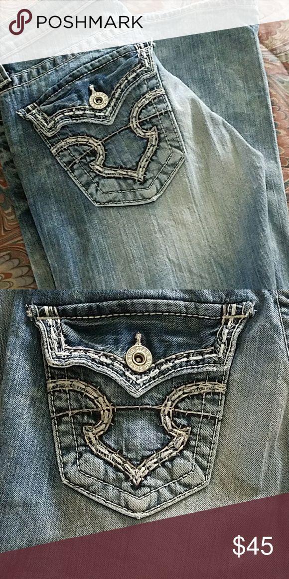 Big Star Low Rise Jeans Big Star Sweet Ultra Low Rise Sz. 27 Long lightly worn Big Star Jeans Boot Cut