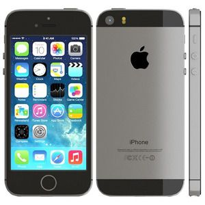 Factory Unlocked Refurbished iPhone 5s 64GB in Space Gray