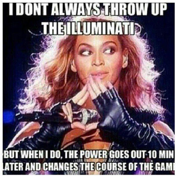 Beyonce's Illuminati Sign | hmmmm ;)
