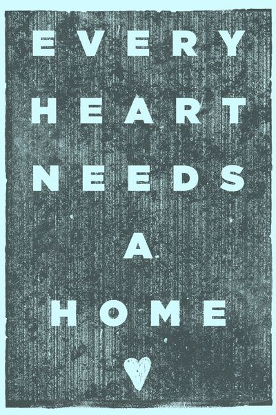 Every Heart Needs A Home art print — benefits one family's adoption from Ethiopia!