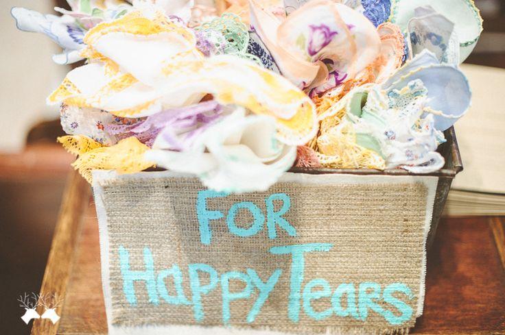 Se permite llorar ... de alegria !!! Detalle para los más sentimentales   boda#idea#regalo  For happy tears  wedding#idea#favors kelsey + rob 0017