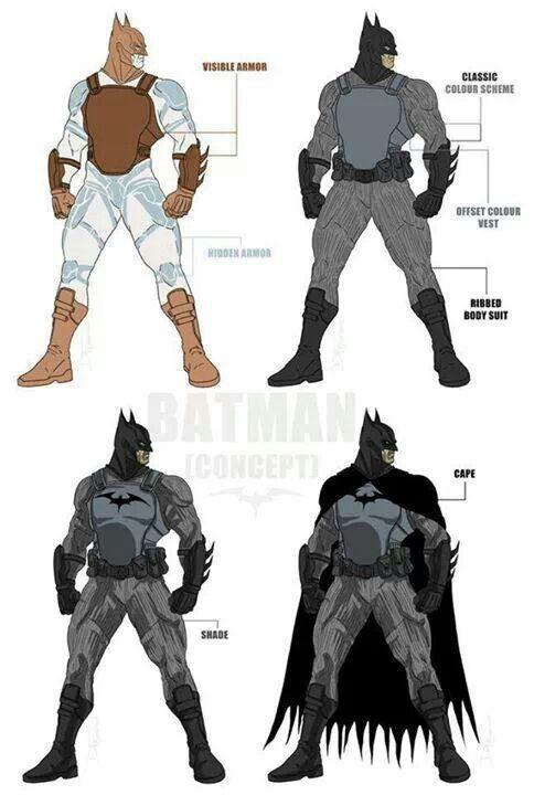 Batman's armor [Concept art]