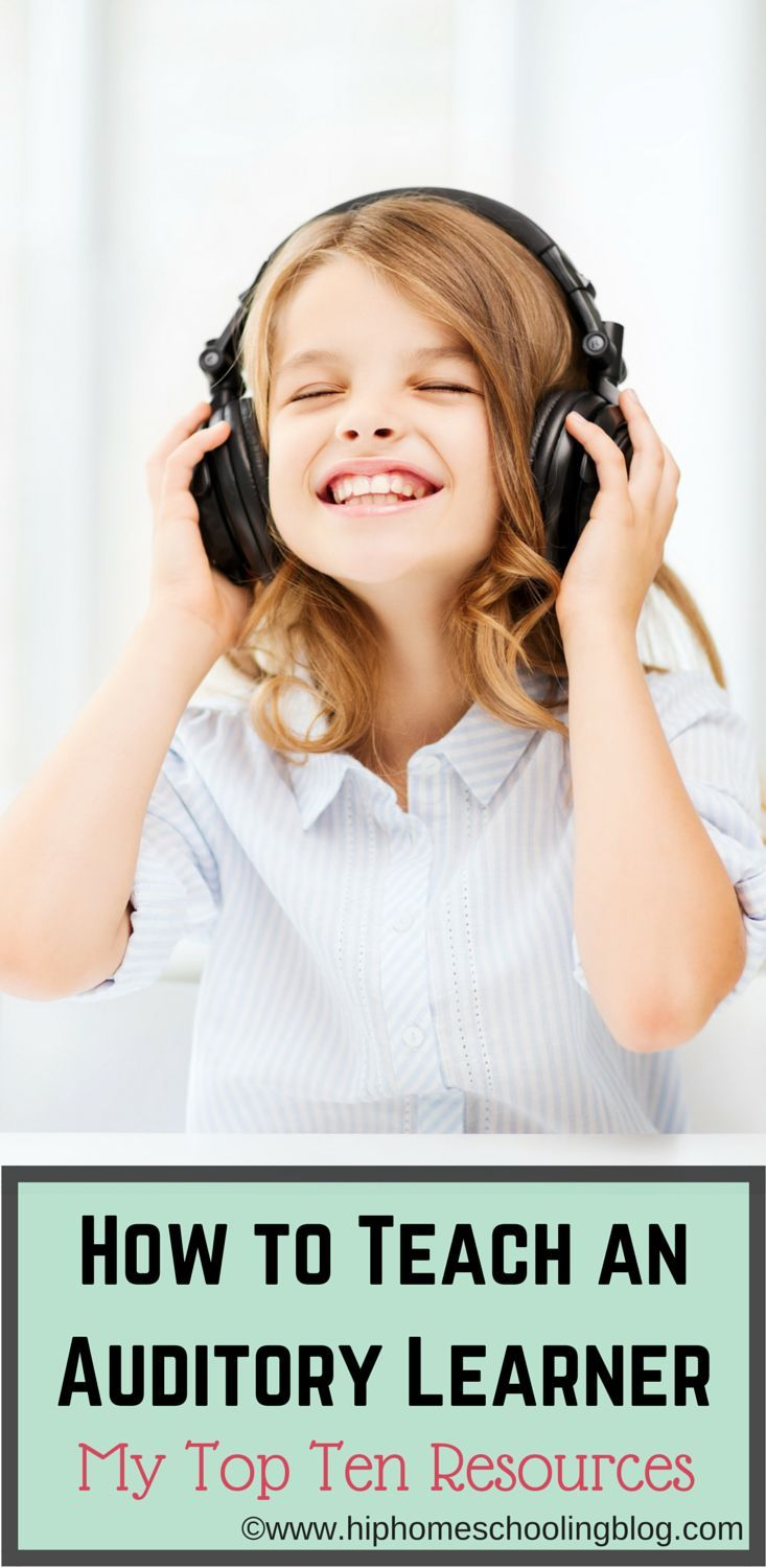 How to Teach an Auditory Learner: My Top Ten Resources