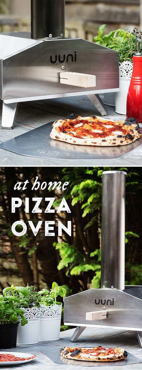 Wood-fire pizzas, veggies, and meats like a pro. This powerhouse pizza oven heats up fast then cooks in minutes.