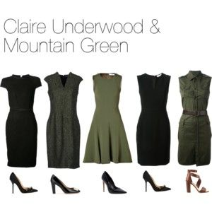 Claire Underwood & Mountain Green