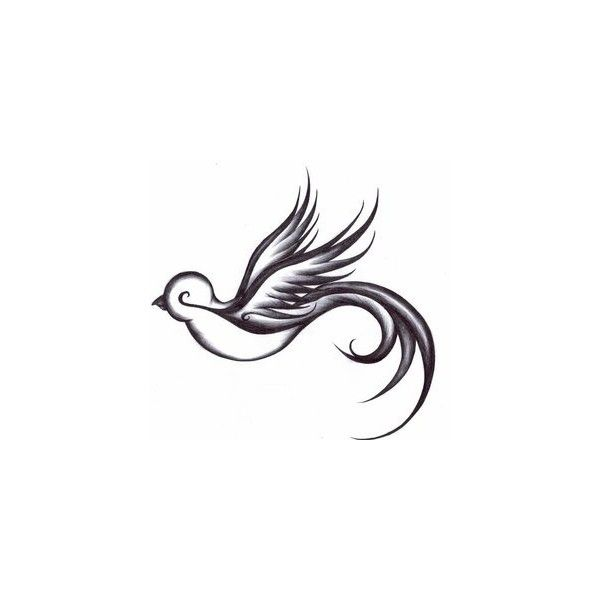 Bird Tattoo Meaning | Ideas | Images ❤ liked on Polyvore featuring accessories, body art, tattoos, backgrounds, drawings, fillers, birds, phrase, quotes and saying