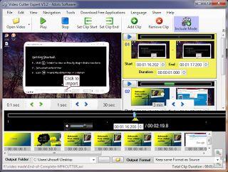 Gihosoft free video cutter