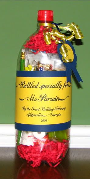 2 liter teacher appreciation gift idea -- Fill Teacher Gifts. a 2