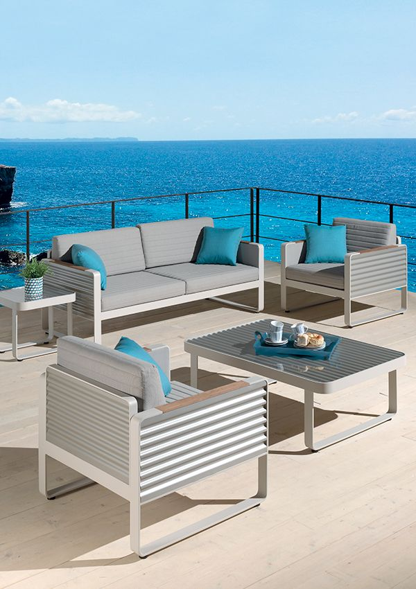 33 best Jardin mobilier images on Pinterest | Grey, Teak and Couch table