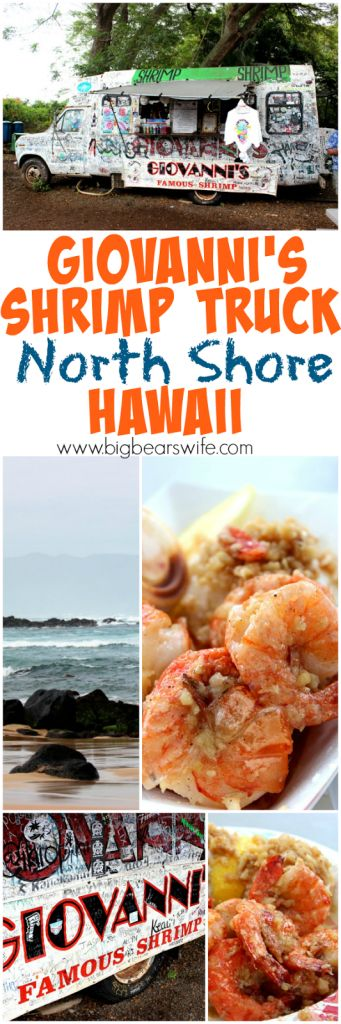 """Giovanni's Shrimp Truck was the first """"restaurant"""" that I wrote down on my list of """"Food Places in Hawaii"""". Before we had even bought our plane tickets I had already decided that I needed to eat there. That's what foodies do… we plan vacations around food haha. I forgot to sign my name! Well actually..."""