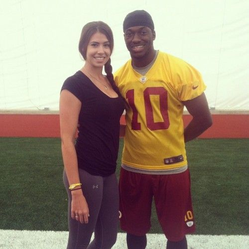 RG3 and Angela Rypien Couple Up | Sports Gossip ...