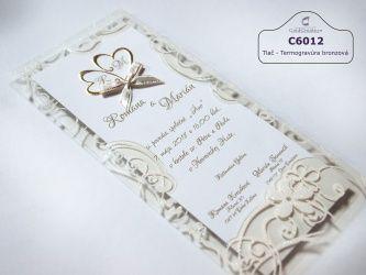 Svadobné oznámenia - Svadobné oznámenia C6012