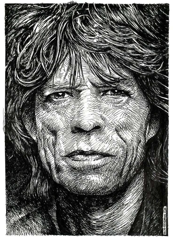 Mick Jagger Tribute by Enricbug