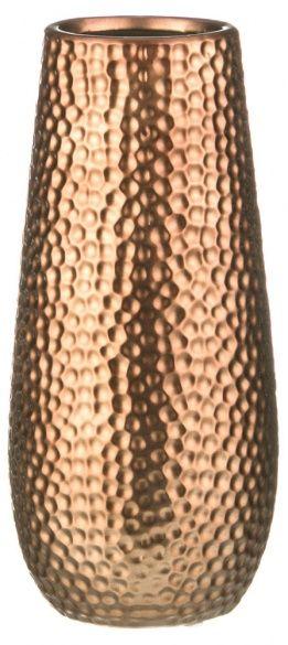 Ваза декоративная «Соты», матовая бронза, 12.5 х 27.5 см