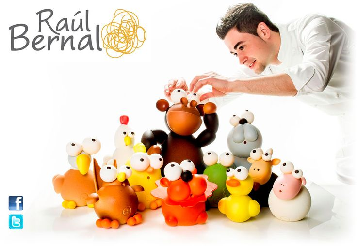 Raúl Bernal – Maestro pastelero y chocolatero Santapau 2011