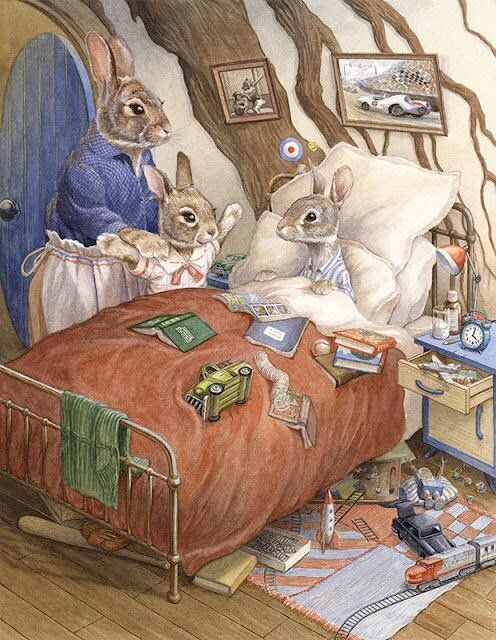 "pagewoman: ""  Little Visitor by Chris Dunn """