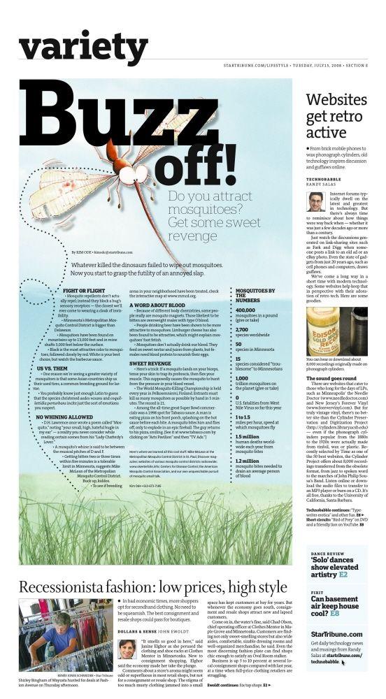Newspaper Design by Jasmine Wiggins