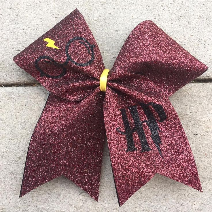 My Favorite Harry Potter Cheerleading Cheer Bow