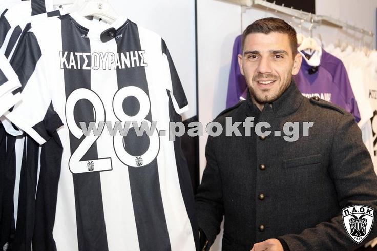 Kostas Katsouranis Toumpas stadium PAOK FC Megastore