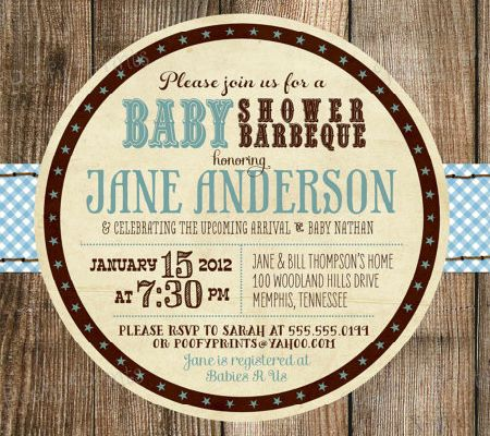10 Awesome DIY Baby Shower Invitations for Boys | Disney Baby
