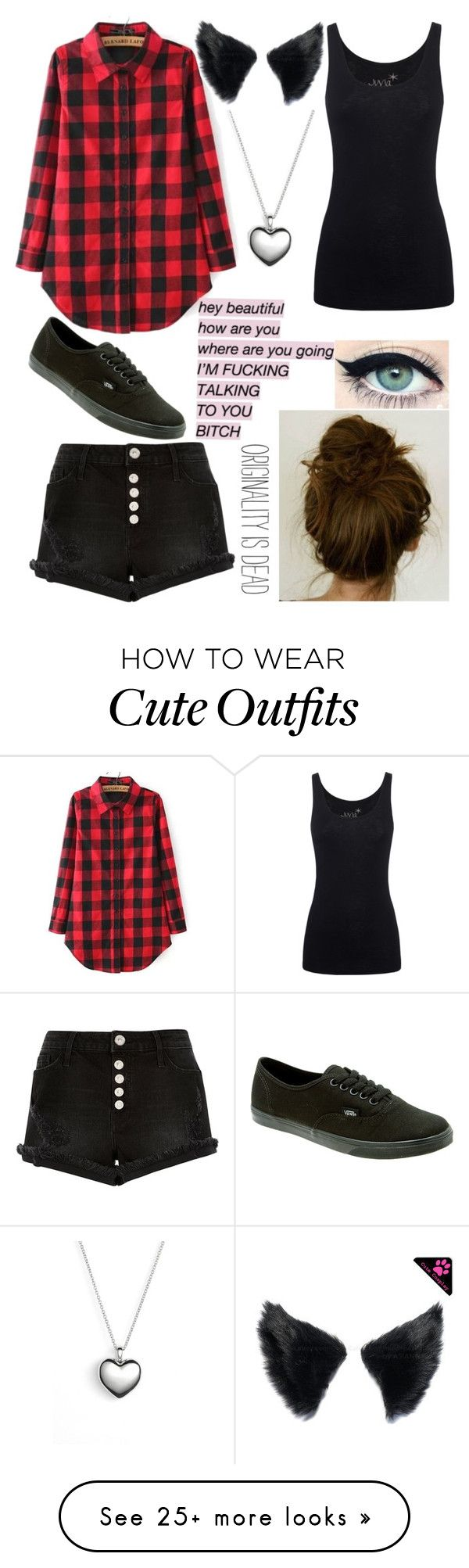 """My outfit for today"" by ur-simply-unique on Polyvore featuring Juvia, River Island, Pandora and Vans"
