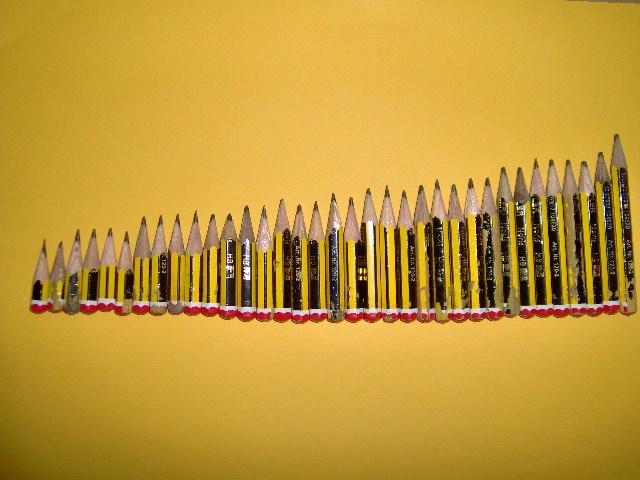 Ordenació amb llapis gastats