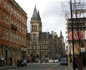 Manchester England.  Waited for the bus here many times.