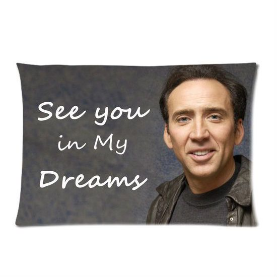 Nicolas Cage Pillow Case! | Shut Up And Take My Money! | Pinterest
