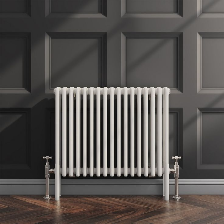 With dimensions of 600 x 785, the Brenton Horizontal Designer Column Style White Radiator is a great heating unit for average sized rooms, both in terms of functionality and style. #radiatorsonabudget #lowbudget