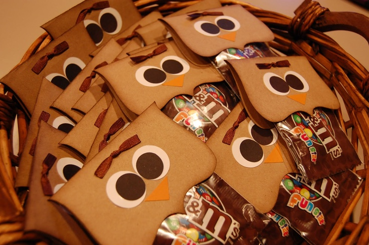 owl goodie bag topppers