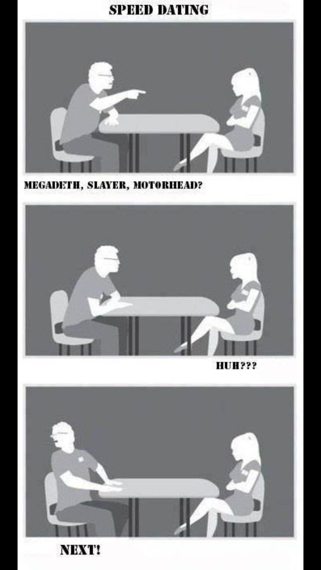 Speed dating for over 60