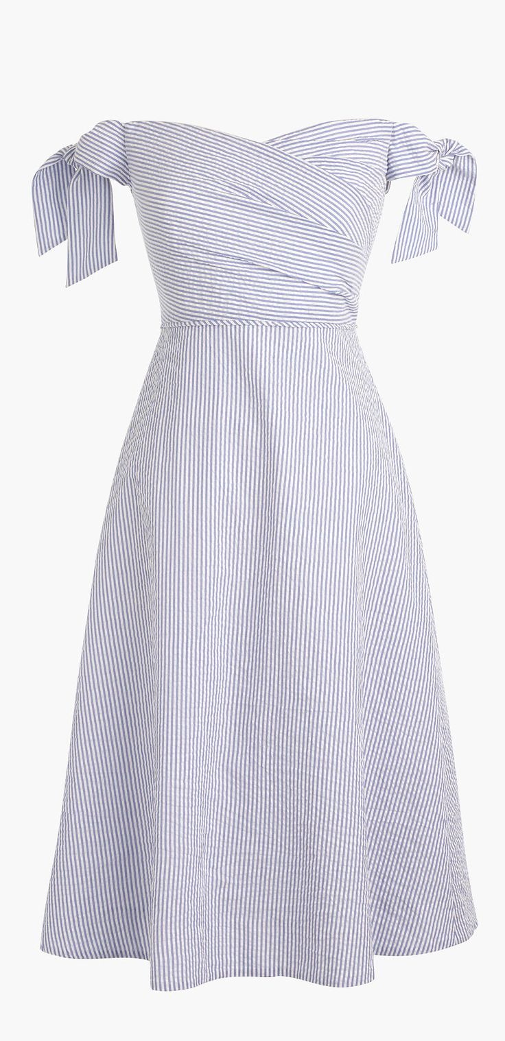 Picnic seersucker dress