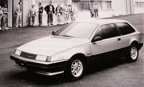 OG   1986 Volvo 480 - Project G13   Full-size proposal by John de Vries from Volvo Nederland