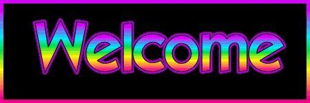 welcome Image, animated GIF
