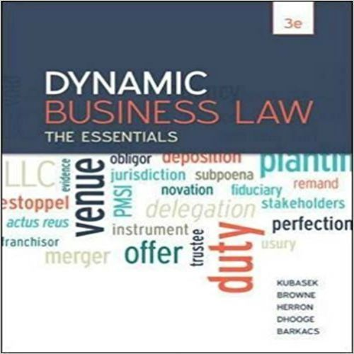 34 best solutions test bank images on pinterest online library test bank for dynamic business law the essentials 3rd edition by kubasek browne herron dhooge fandeluxe Image collections