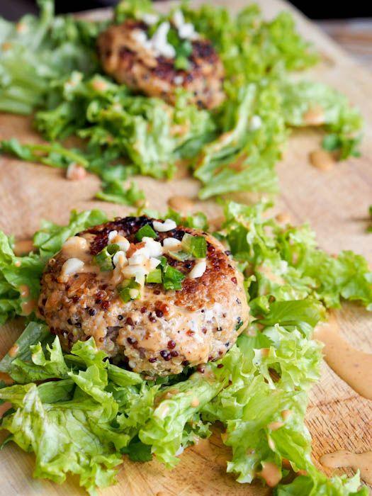 キヌアと豚肉のハンバーグのレシピ