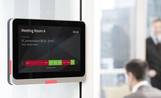 Meeting room booking system integrated to outlook