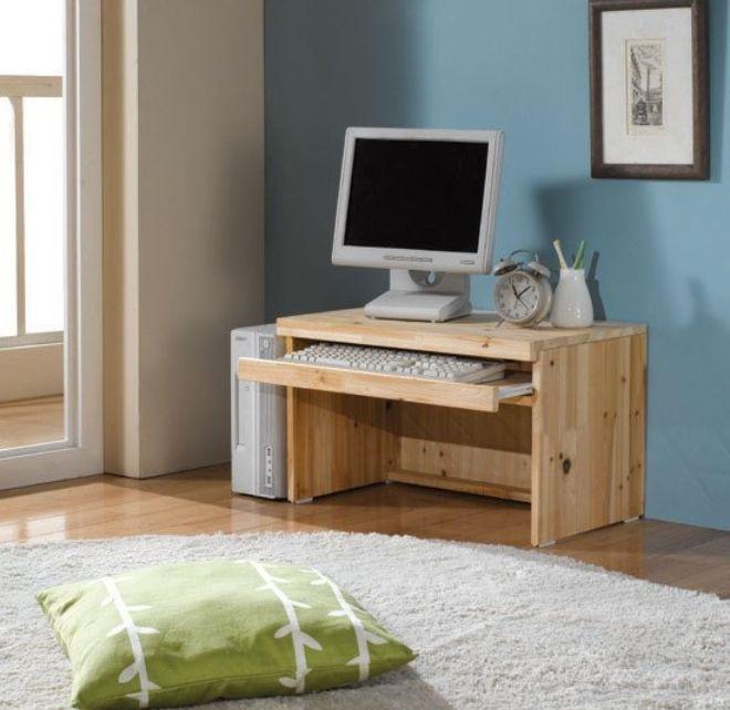 Details about Japanese Cedar Floor puter Desk Wooden PC